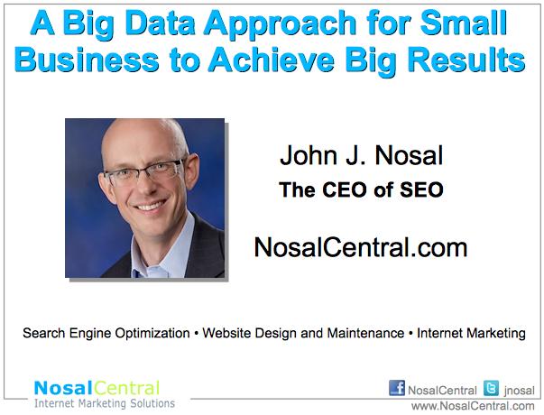 Big Data - DFW Rocks 2014 Presentation